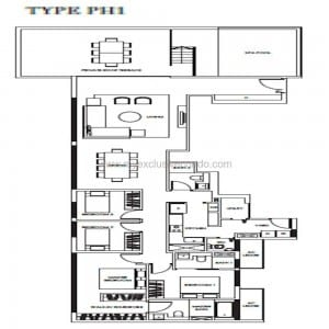 New Launch Condo - Highline Residences - Type PH1