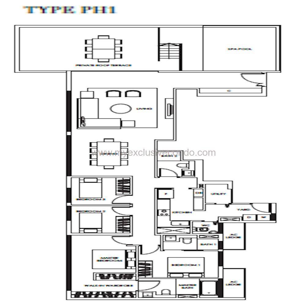 New Launch Condo - Highline Residences - Type PH1