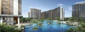 Singapore New Launch Condo coco palms facade