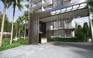condo singapore hallmark residences facade