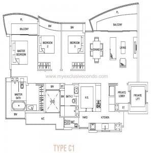 Hallmark Residences - Type C1