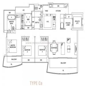 Hallmark Residences - Type Ca