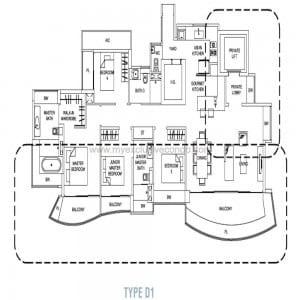 Hallmark Residences type D1