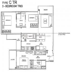 Rivertrees Residences - Type C TR