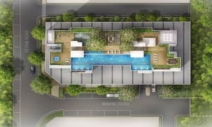Singarpore New Launch Condo - The Citron Residences - Sitemap