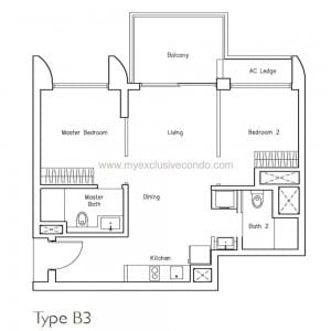 New Launch Condo - LakeVille - Type B3