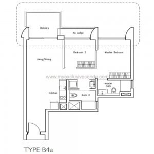 New Launch Condo - Lakeville - Type B4a