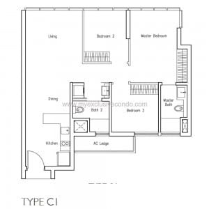 New Launch Condo - LakeVille - Type C1