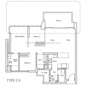 New Launch Condo - LakeVille - Type C4