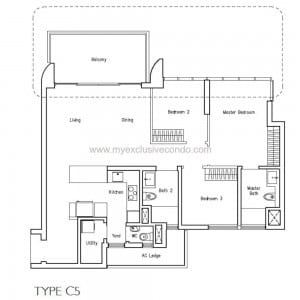 New Launch Condo - LakeVille - Type C5