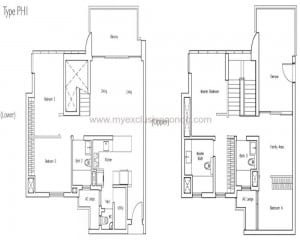 New Launch Condo - LakeVille - Type PH1