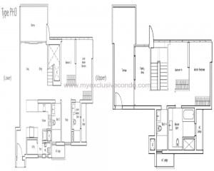 New Launch Condo - LakeVille- Type PH3