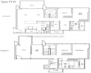 New Launch Condo - LakeVille - Type PH5