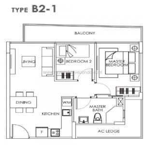 New Launch Property Singapore - Bently Residences - Type B2-1