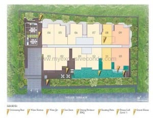 Singapore New Launch Property - LIV on Wilkie - Siteplan