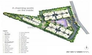 Condo Singapore - Mon Jervois - Siteplan