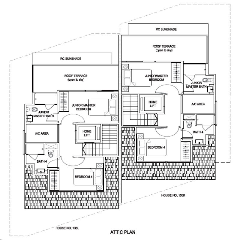 New Launch Condo - Whitley Residences - Attic Level