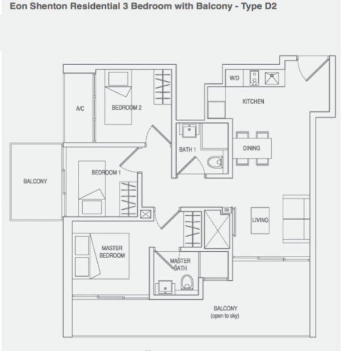 Eon Shenton - 3 Bedrooms