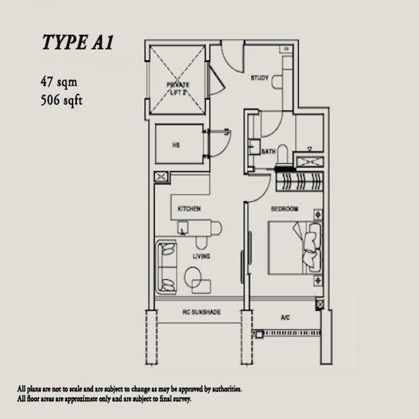 Onze Tanjong Pagar - Floorplans