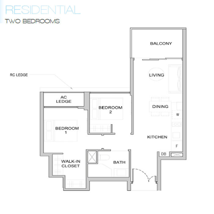 Kingsford Waterbay - Two Bedroom