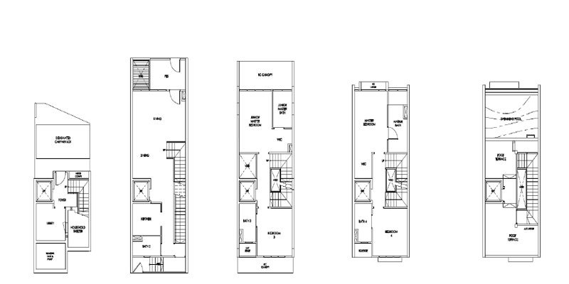 The Morries Residences - Floor Plans