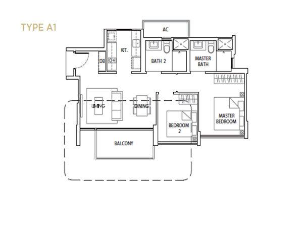 The Vales Floorplan
