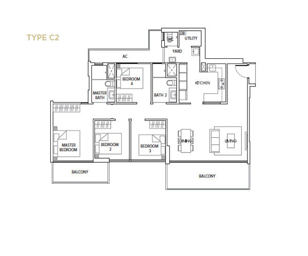The Vales Floorplan