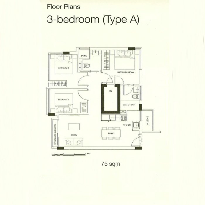 70 at Truro - 3 Bedrooms