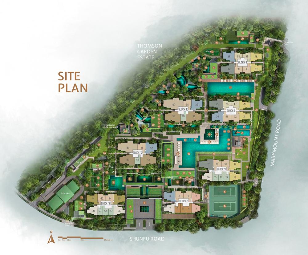 Jadescape - Site Plan