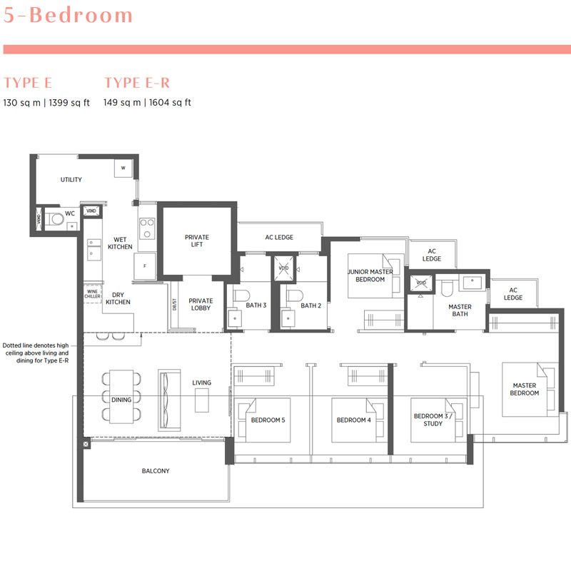 Parc Esta - Floorplan - 5 Bedroom